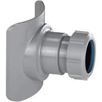 K352606McAlpine klem aansluitmof voor standleiding 50 mm grijs