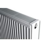 61225100 Brugman Compact 4 paneelradiator type 22 l=1000mm h=500mm RAL9016 1449 Watt incl. montageset