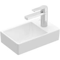 59930246 Villeroy & Boch Avento fontein 36 cm met kraangat rechts zonder overloop wit