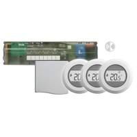A4950505Honeywell Vloerverwarming regeling HCE-80 + antenne en 3x Round wireless